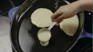 easy pancake recipe without milk and eggs