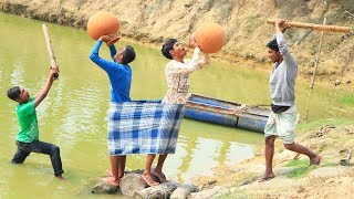 New Top Funny Comedy Video 2020__Very Funny Stupid Boys__Episode--103--Indian Fun || ME Tv