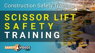 Scissor Lift Safety Training - OSHA Safety for Employees