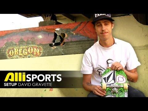 David Gravette Skateboard Setup Alli Sports