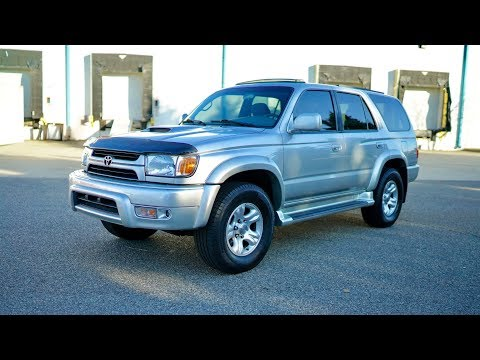 2001 Toyota 4Runner SUPERCHARGED TRD SPORT: TOYOTA 4RUNNER / RARE SPORT EDITION / TRD SUPERCHARGER / A+ SERVICE HISTORY