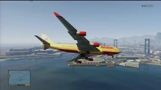 GTA 5 - How To Steal A Jumbo Jet