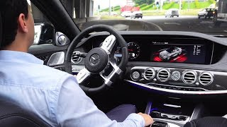 2019 Mercedes AMG S63 ROUGH 4MATIC + Drive Review S Class Sound Acceleration Exhaust