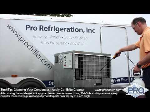 ProChiller.com - TechTip: Cleaning Condenser Coil