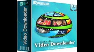 Bigasoft Video Downloader Pro 3 15 обновления скачать