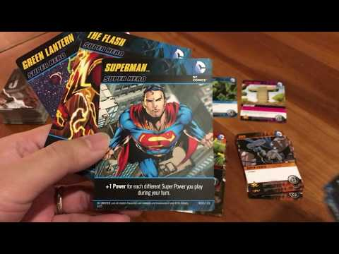 Board Game Reviews Ep #15: DC COMICS DECK-BUILDING GAME