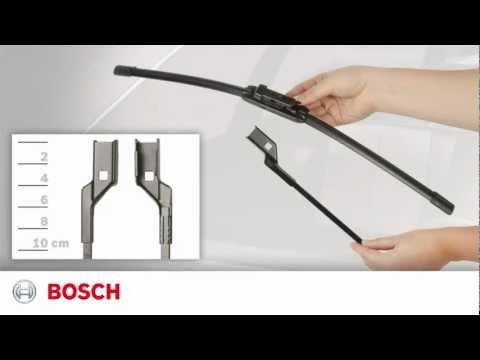 Bosch Wiper Blades - Toplock Installation Video II-1-014-1