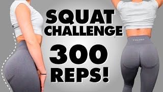 2 WEEK BUBBLE BUTT SQUAT CHALLENGE | Round Booty Workout | At Home | No Equipment