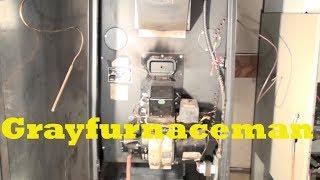 Troubleshoot the oil furnace part 1. Burner won't start.