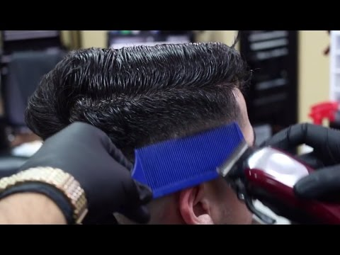 How To Clipper Over Comb Bald Fade Haircut