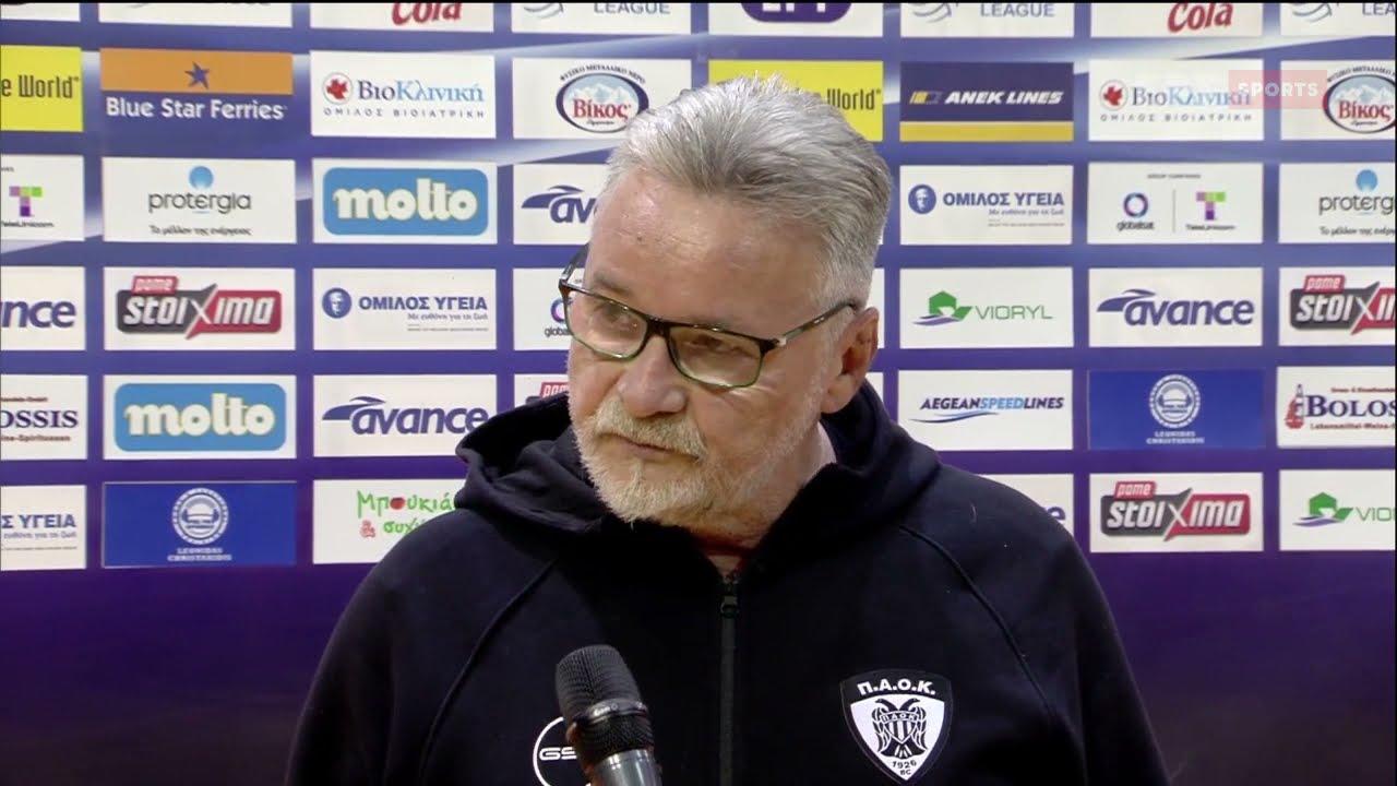 Volley League | Ν.Ματιάσεβιτς: Είμαι πολύ ικανοποιημένος | 02/03/21 | ΕΡΤ