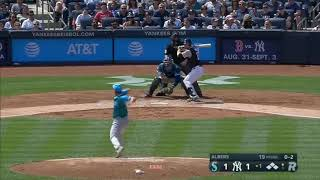 Mariners commit 5 errors in the 1st inning
