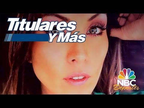 Chismesito de Aquivaldo y Karla Pineda | Titulares y Más | NBC Deportes