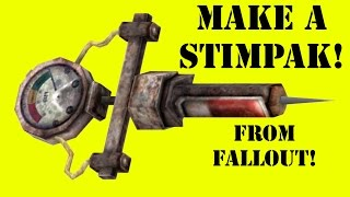 How to Make a Fallout Stimpak (DIY)