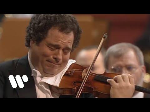 הכנר יצחק פרלמן בביצוע נפלא לקונצ'רטו לכינור של בטהובן