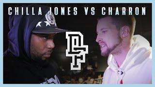 CHILLA JONES VS CHARRON | Don't Flop Rap Battle