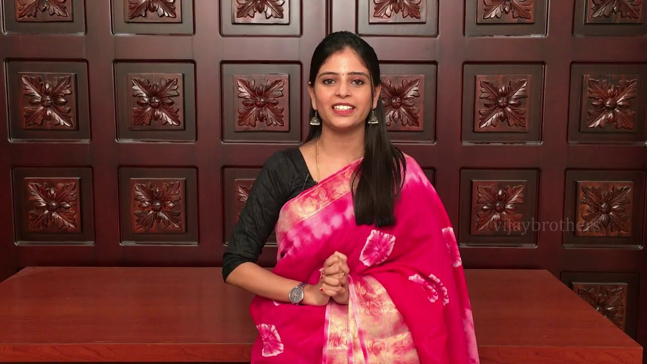 """<p style=""""color: red"""">Video : </p>Latest Banaras Chenderi Sarees Collections In Low Price  