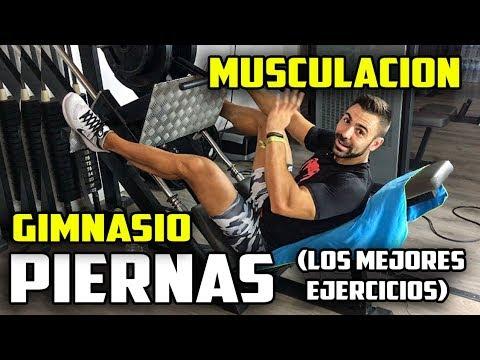 🔴 PIERNAS (CUADRICEPS)  || Los mejores ejercicios de Piernas con Máquinas en Gimnasio