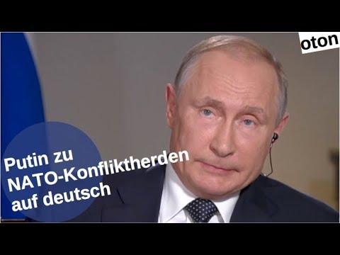 Putin zu NATO-Konfliktherden auf deutsch [Video]
