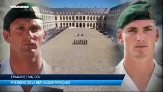 France : Hommage Aux Deux Soldats Tués Au Burkina Faso