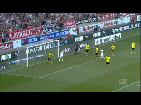 マルコ・ロイス、ハットトリック!Stuttgart vs Dortmund2-3 29/03/2014