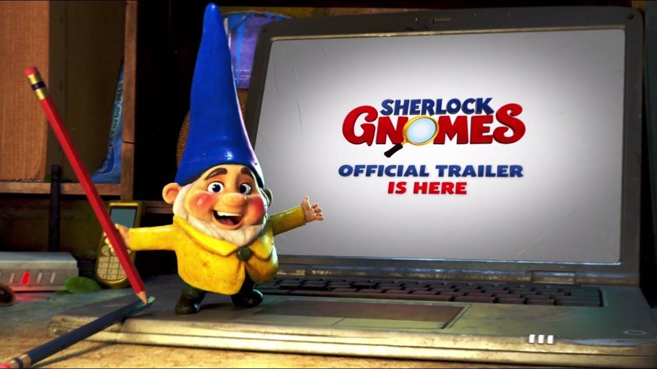 Trailer för Mästerdetektiven Sherlock Gnomes