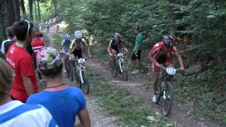 preview picture of video '2. UEC MTB Jugend EM Graz/Stattegg, Tag 2: MTB combined XCO'