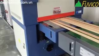 Video Dây chuyền sơn UV bóng cứng full