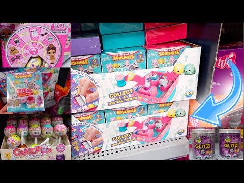 SQUISHIES JUST ARRIVED AT WALMART! NEW! LOL SURPRISE CONFETTI POP SERIES 3