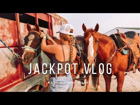 Barrel Jackpot Vlog + Patterning my New Horse    Camo Cowgirl