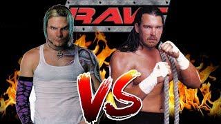 WWE RAW 2 Jeff Hardy CAW vs Bradshaw
