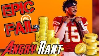 Madden 20 ANGRY RANT!  ...I'M STILL SO SICK OF THIS!