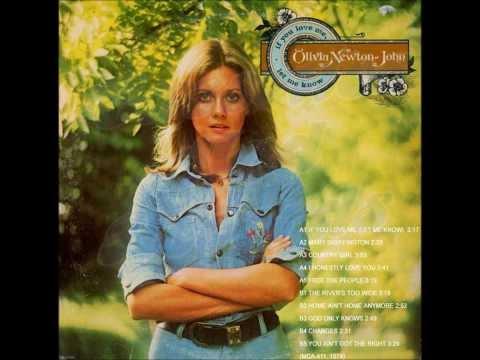 Olivia Newton-John. If You Love Me Let Me Know (1974)