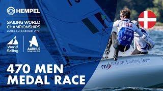 Full 470 Men Medal Race | Aarhus 2018
