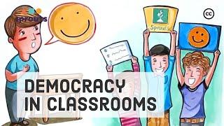 The Classroom Pledge: Teaching Democracy in School