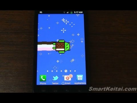 Video of Nyan Droid Live Wallpaper