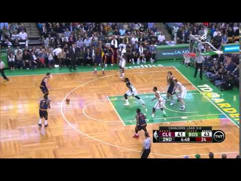 NBA, Playoff 2015, Cavaliers Vs. Celtics, Round 1, Game 3, Move 25, Kevin Love, 3 Pointer