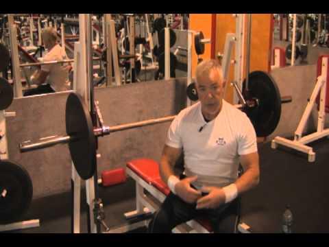 wide grip bench smith machine