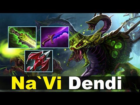 NaVi Dendi Carry Venomancer Dota 2