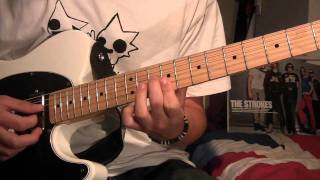 The Strokes - Machu Picchu (With Tabs) - Guitar cover