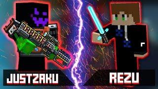 Pixel Gun 3D : JustZaku [VS] REZU [Versus]