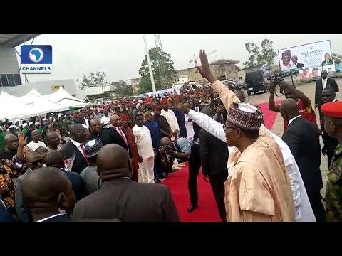 Presidential Election: Buhari Takes Campaign To Enugu, Anambra