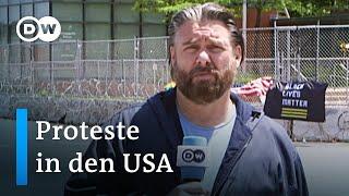 DW Reporter während der US Proteste in Minneapolis beschossen | DW Nachrichten