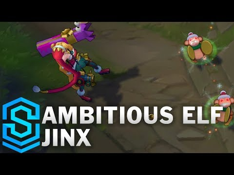 Ambitious Elf Jinx Skin Spotlight – Pre-Release – League of Legends