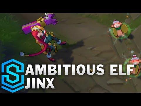 Ambitious Elf Jinx Skin Spotlight – Pre-Release – League of Legends