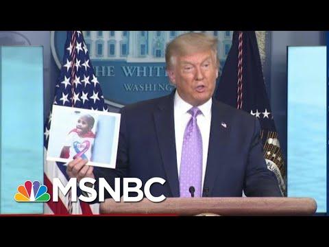 Trailing Biden After Harris Pick, Trump Admits 2020 Mail In Voting Plot | MSNBC