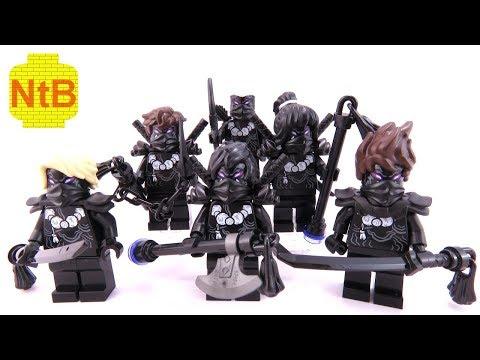 LEGO NINJAGO SEASON 10 MASTER WU!?! Mini figure and build