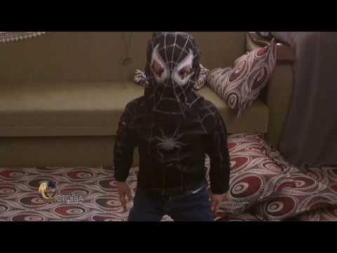 "Nizar: ""When I wear my costume I feel strong."""