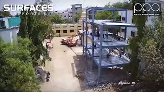 Indian Architect firm erect first ever residential steel building in just 8 days | Pooja& Piyush Associates, Aurangabad | Surfaces Reporter