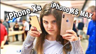 НОВЫЕ IPhone Xs и Xs MAX  в Apple Store в Америке в ПЕРВЫЙ ДЕНЬ Чехлы на айфон
